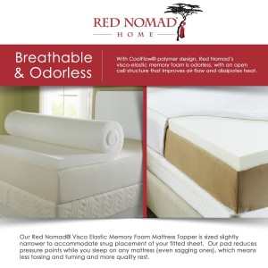 red nomad breathable