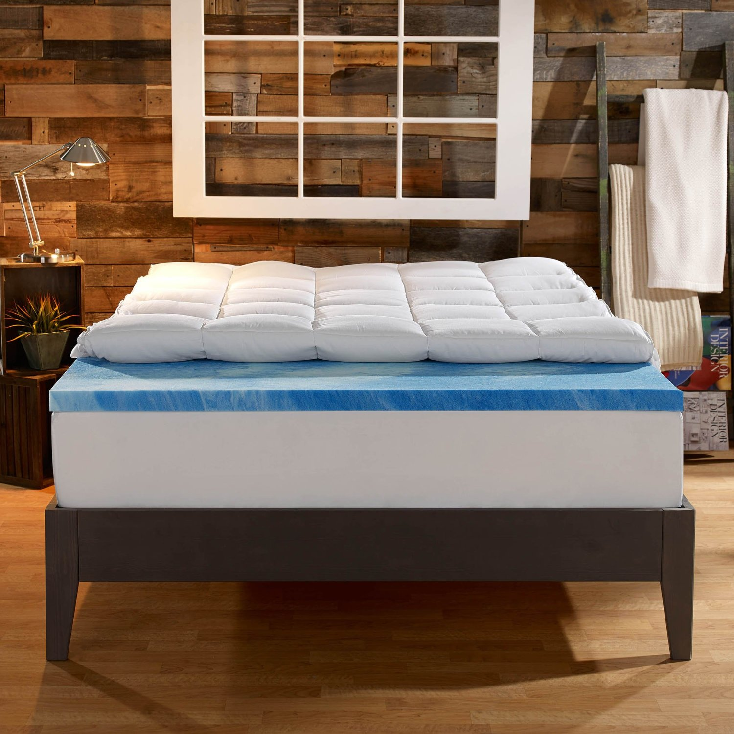 Sleep Innovations 4-inch Dual-Layer Mattress Topper: A ...